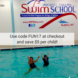 Coupon for Michael Phelps Swim School in Williamsville, NY