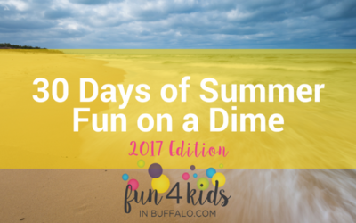 30 Days of Summer Fun on a Dime – 2017 Edition