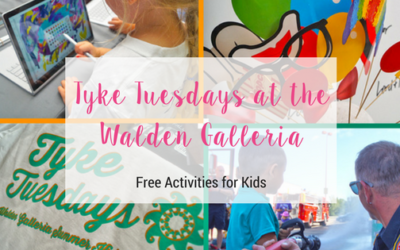 Learn more about Tyke Tuesdays at the Walden Galleria