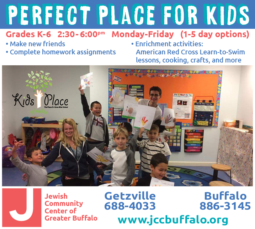 JCC – Perfect Place for Kids Fall 2017