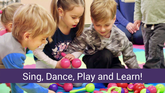 Sing, Dance, Play and Learn with Betty's Music Together!
