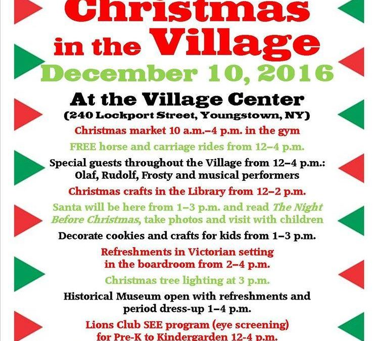 Youngstown Christmas in the Village